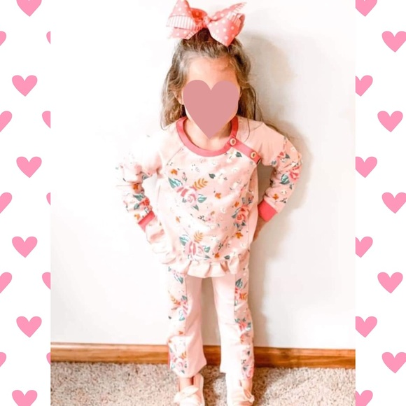 Matilda Jane floral outfit
